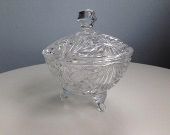 Crystal sweet bowl