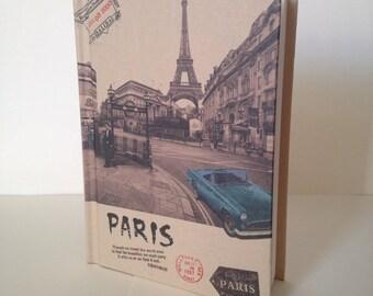 Hardback Journal / Hardback Notebook / Hardback Diary / Vintage Diary / Vintage Notebook / Paris Notebook / French Notebook