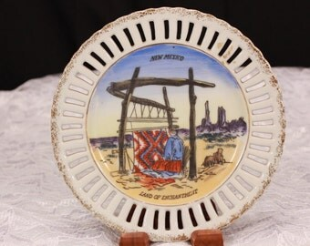 Mid century New Mexico Display Plate