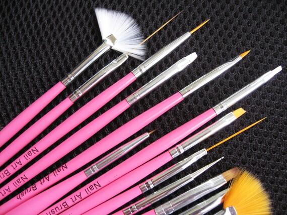 Nail Art Brushes Professional Nail Art 15pcs Nail Art
