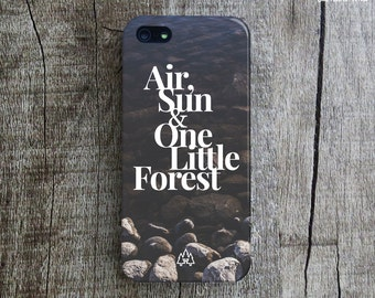 NATURE iPhone 5 Case. Typography iPhone 5s Case. River iPhone 4 Case. Forest iPhone 5C Case. Nature iPhone 4s Plus Case. Case for iPhone 5.