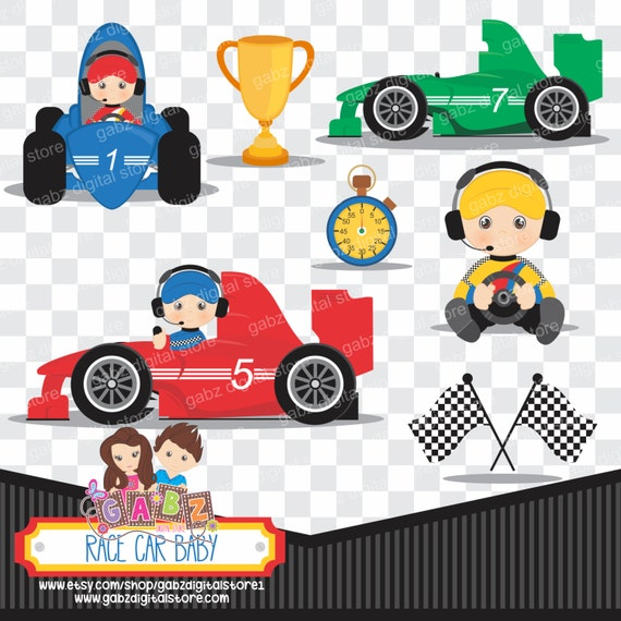 race car baby baby shower clipart baby boy gabz by gabzclipart