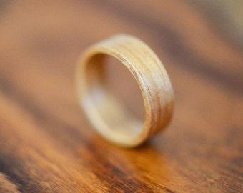 Tasmanian Blackwood Bentwood Ring