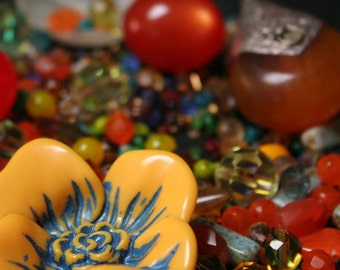 Resin, Lucite & Glass... Oh my!!
