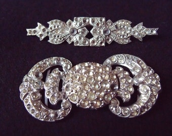 Vintage brooch and clasp