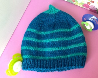 Knit baby gift newborn baby knitting wool baby Hat
