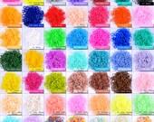 600 PCs 24 Clips Loom Rainbow Bands Refills