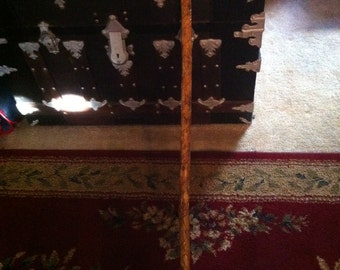 Hand Carved Walking Stick, Cane