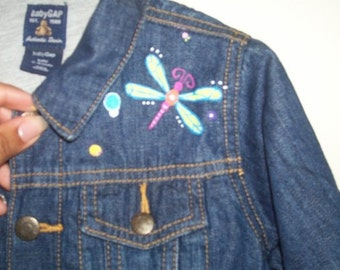 Hand painted Customized Apparel Jean Jacket