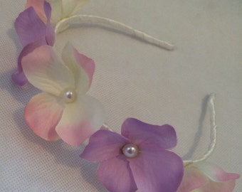 Dainty Floral Head Band