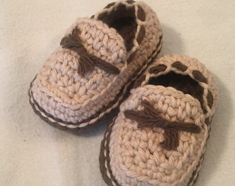 Crocheted baby boaters size 3-6 months