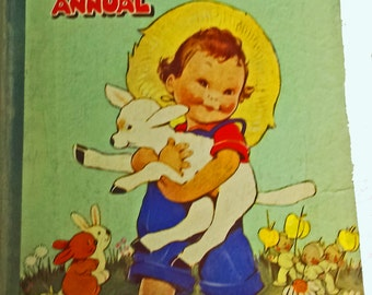 Lucy Attwells Annual - Pre 1950 by Mabel Lucy Attwell.