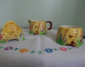 Royal Winton Grimwades Beehive set