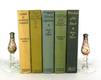 Peter B. Kyne 5 Book Grouping - 1920-1933