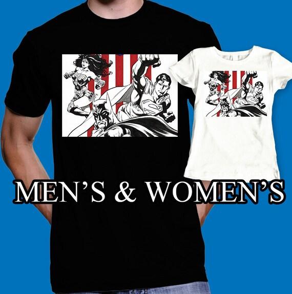 Superman shirt batman t shirt wonder women super by for Wonder boy t shirt