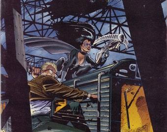 1995 Batman Comic Book..Vintage Comic Book..DC Comic Book..Comic Book..The Batman Chronicles..Midnight Train