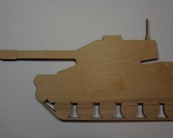 Tank silhouette Cutout