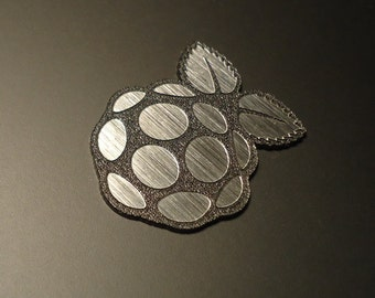 Raspberry Pi Label / Logo / Sticker / Badge 30 x 23 mm [210]