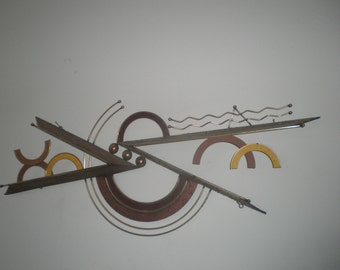 C. Jere Wall Sculptor Mid Century Modern