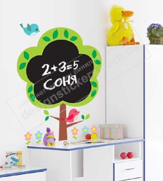 sticker for writing and drawing chalk board wall decal vinyl writing letters wall quotes home decor wall sticker wall