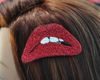 Rocky Horror Picture Show Lips Hairclip