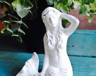 Small Mermaid Statue You Pick Color
