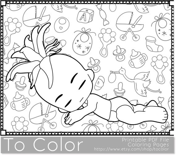 baby shower coloring pages printables - baby printable coloring pages for adults baby showers
