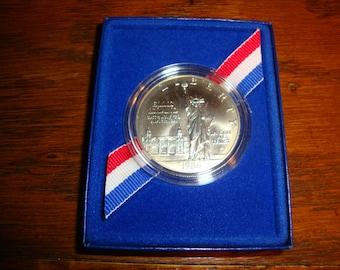 Coin:  1986 Liberty Silver Dollar