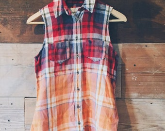 Dip Dyed - Flannel