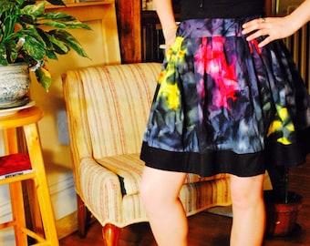 Batik Tie Dye Skirt