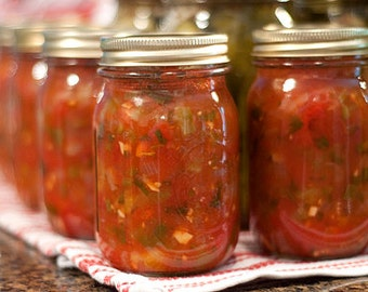 Organic Salsa (Homemade, 1 pint)