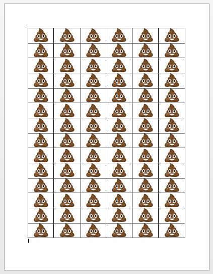 Effortless image in free printable poop emoji