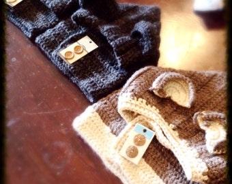 Children's Crochet Animal Cowl