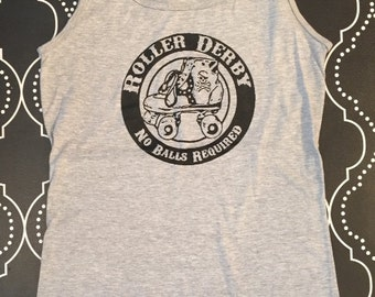 Roller Derby - No Balls Required Women's Tank Top