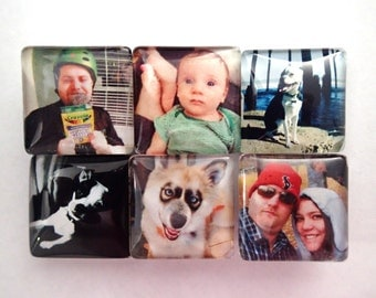 Custom Photo Magnets- Set of 6