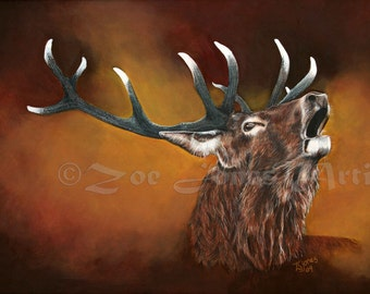 Animal Totem Greetings Cards- Stag