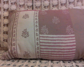 Patchwork Look Pillow