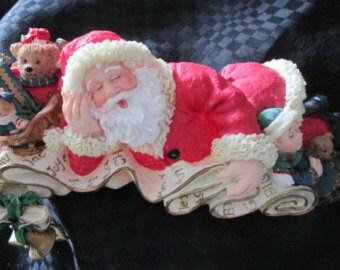 Vintage Santa Claus, chimney