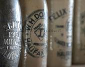 Antique Ceramic Bottles Photographic Print, 5x7, 8x12, 10x15, 11x17, ThisBorrowedMoment, Nova Scotia