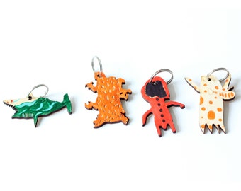 Personalised Keyring - Made from YOUR child's artwork