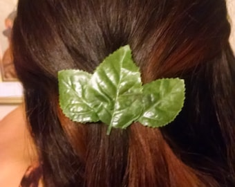 Three Leaf Barrette