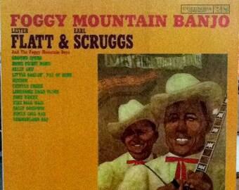 Lester Flatt & Earl Scruggs Foggy Mountain Banjo LP
