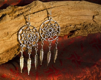 Dreamcatcher earrings #1