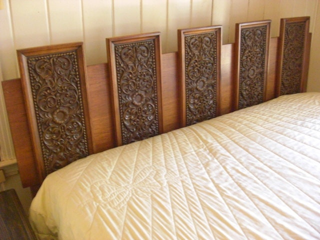 antique spanish style bedroom set by sanford permacraft