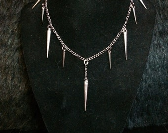 Pins and Needles Necklace