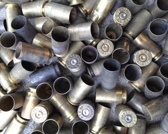 50 Empty 40 S&W Brass Bullet Casings