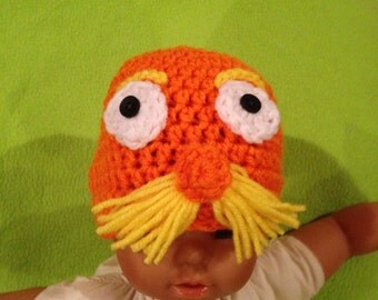 Crochet Lorax Inspired Hat