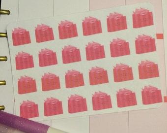 Victoria secret shopping bag planner stickers