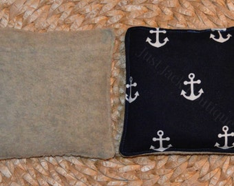 Boo Boo Buddy Flax Seed Bag with hand pocket - Anchor