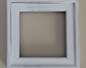 Rustic Solid Wood Picture Frame